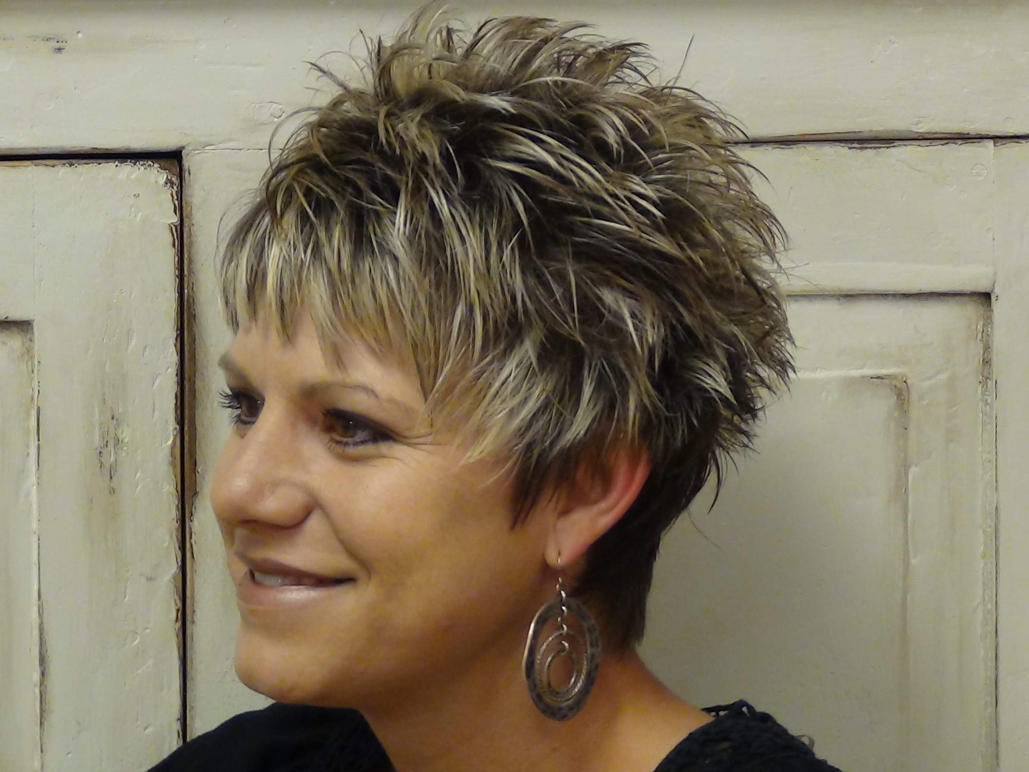 long hair in front and short in back hairstyles - short hairstyles
