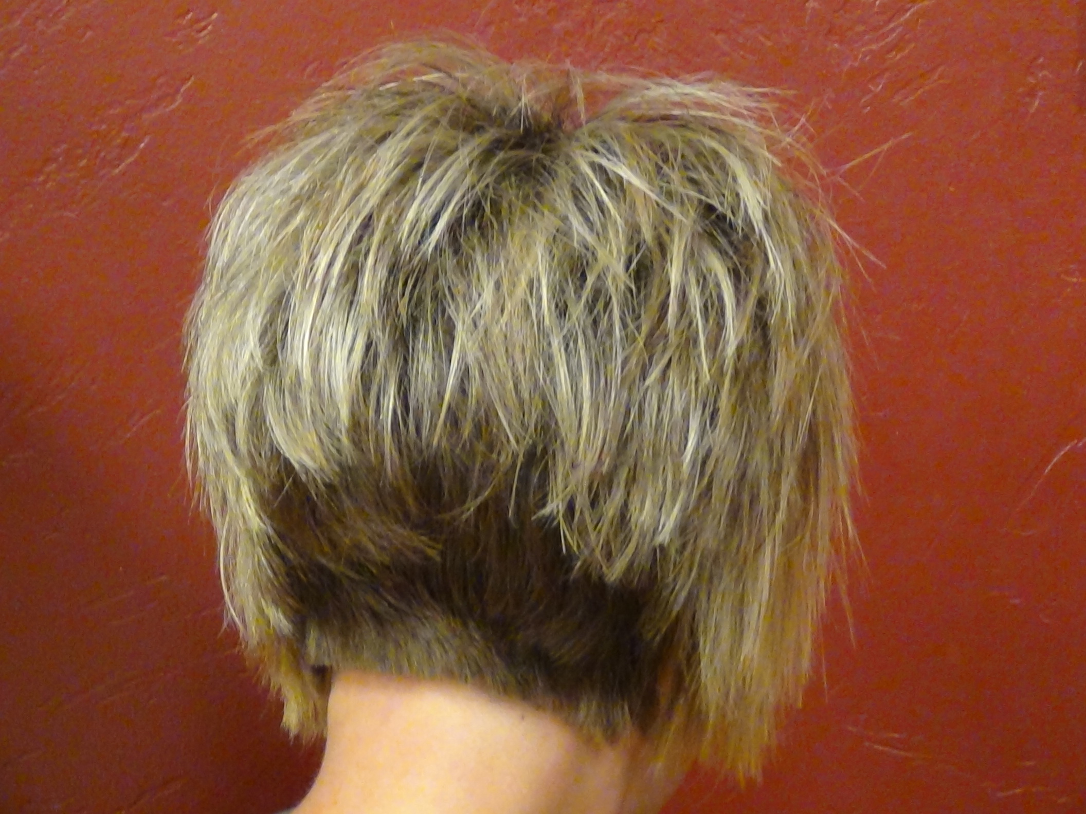 stacked haircut with straight bangs - learn more today