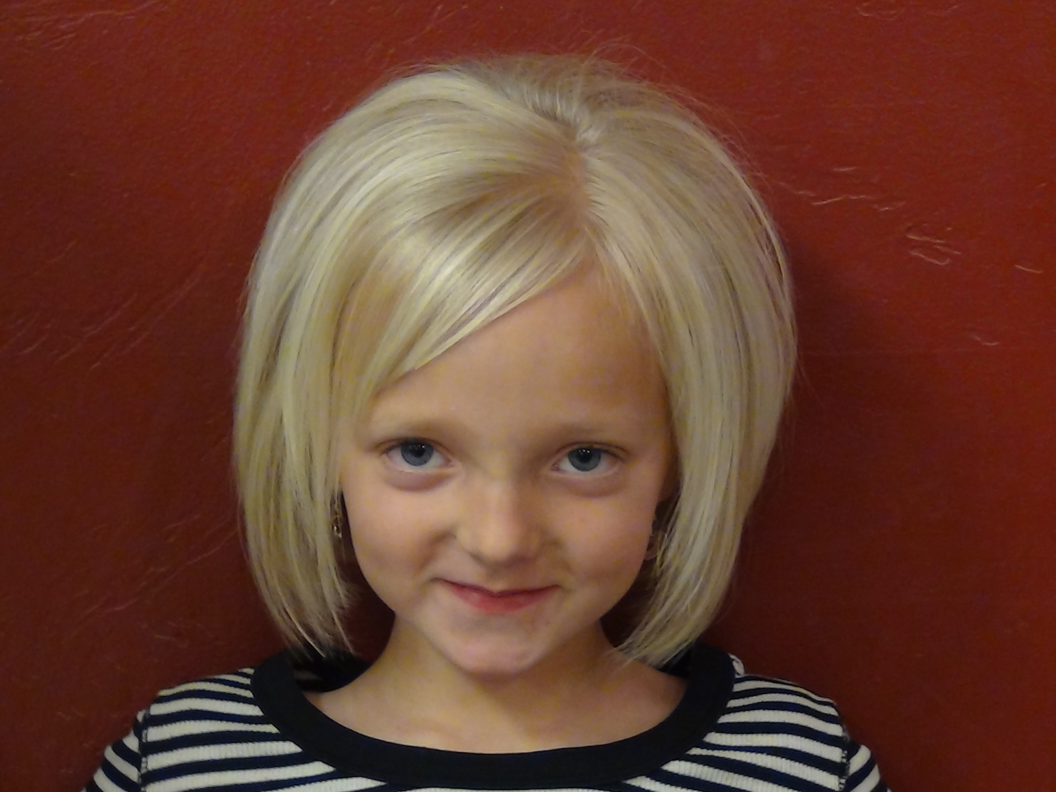 Little Girls HairCut and Style