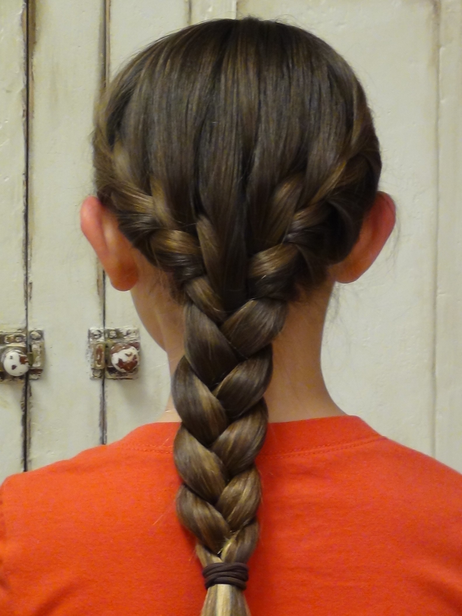 How To French Braid Your Own Hair Boys And Girls