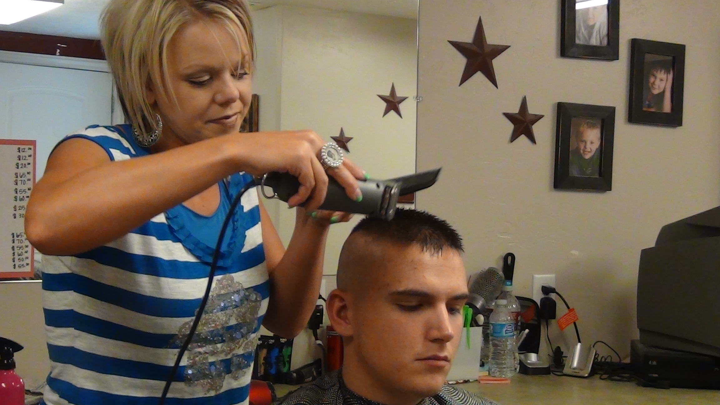 Boys Military High and Tight Haircut
