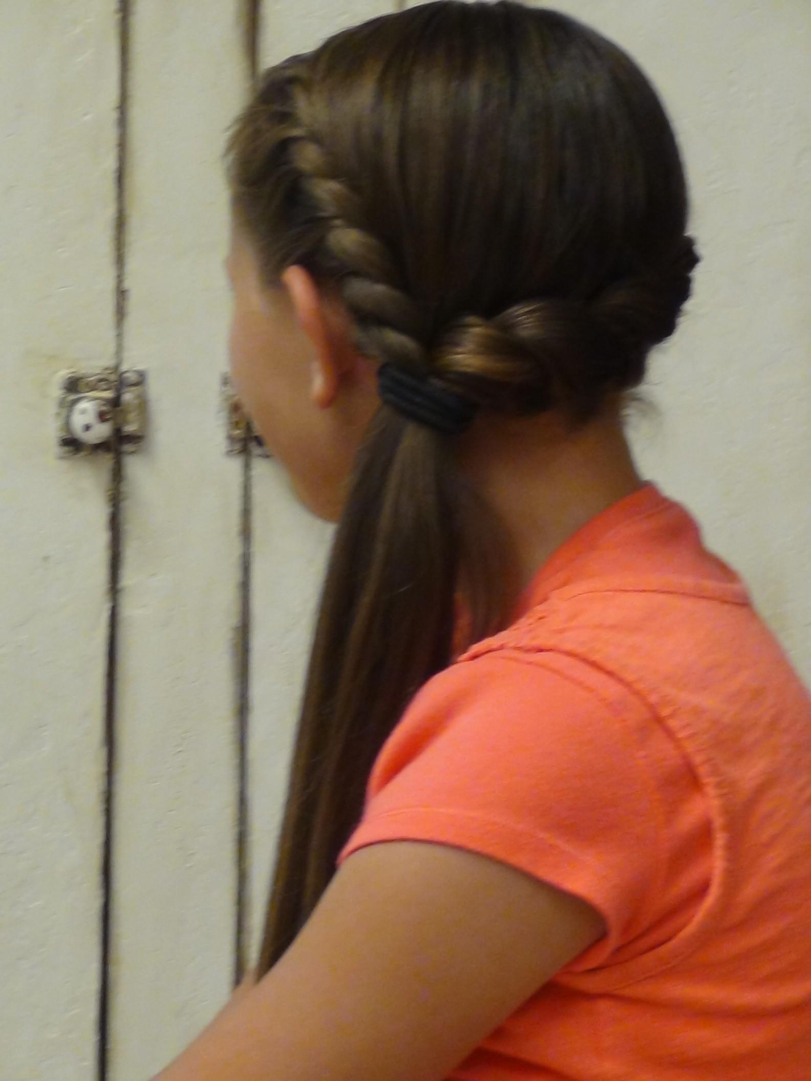 Magnificent Braided Side Ponytail Crafthubs Short Hairstyles Gunalazisus
