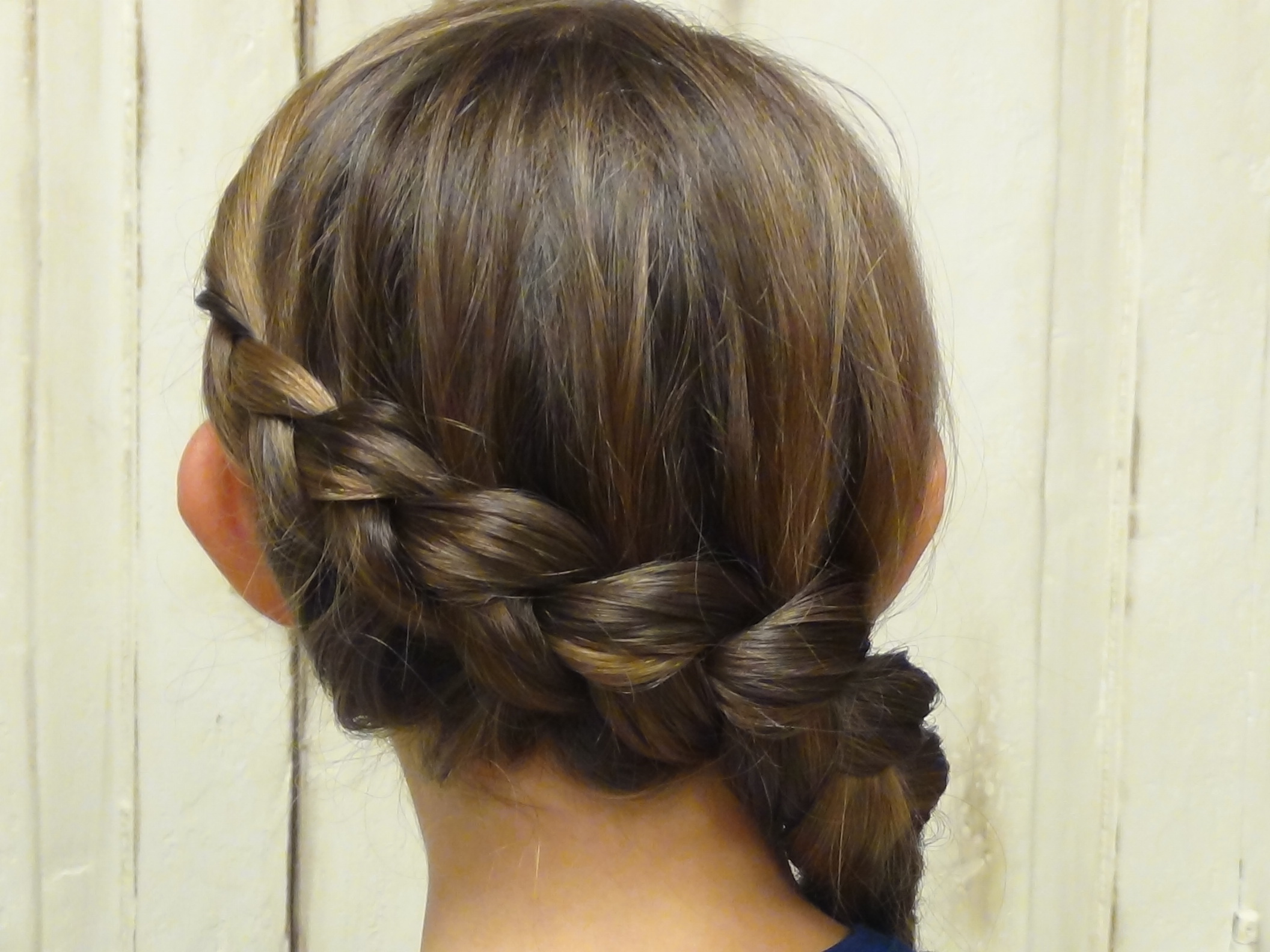 Fabulous Updated Katniss Everdeen Braid Hunger Games Boys And Girls Short Hairstyles Gunalazisus