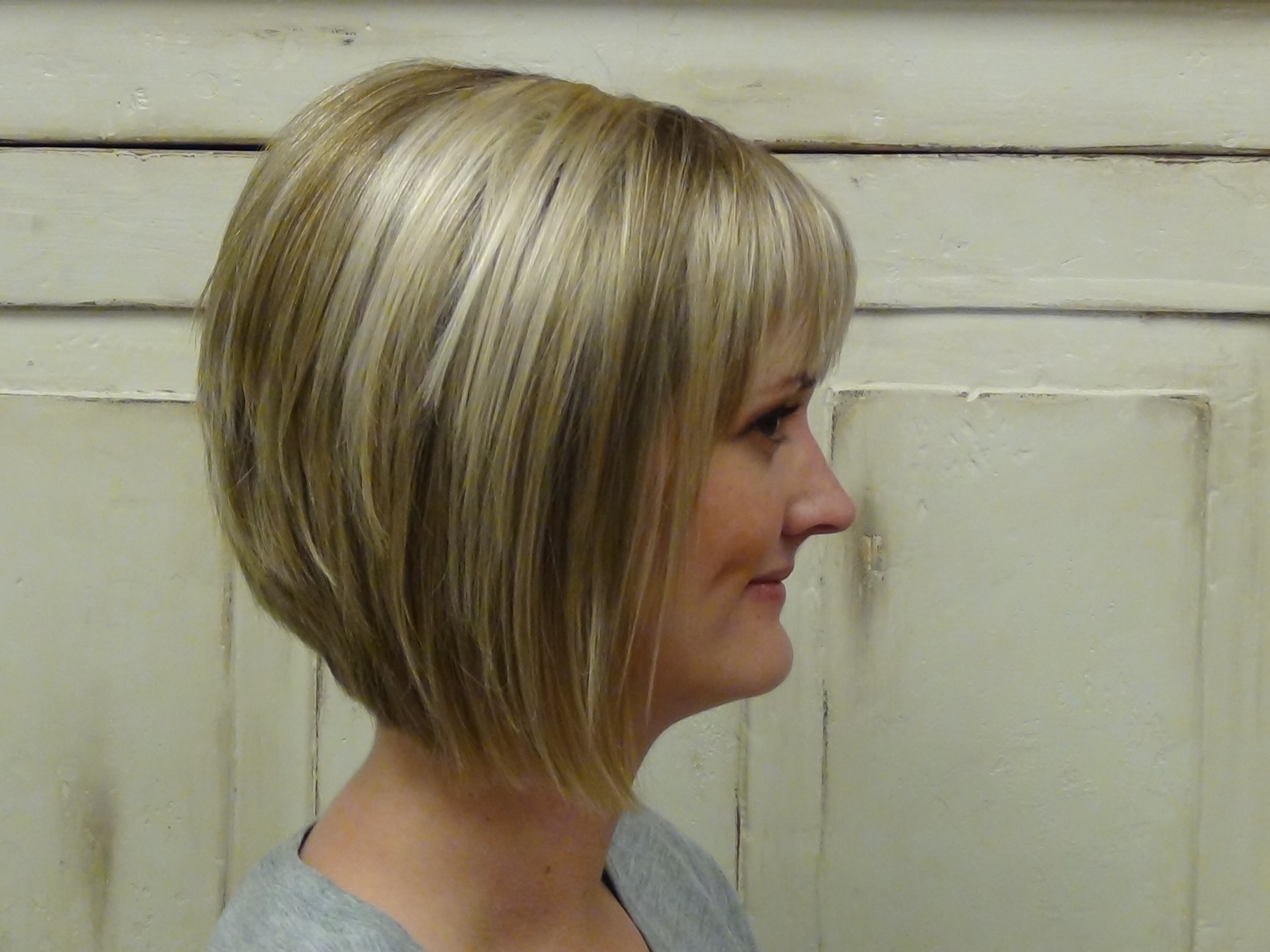 Super Cut And Style An Aline Bobcut Hairstyle Boys And Girls Hair Styles Hairstyles For Women Draintrainus