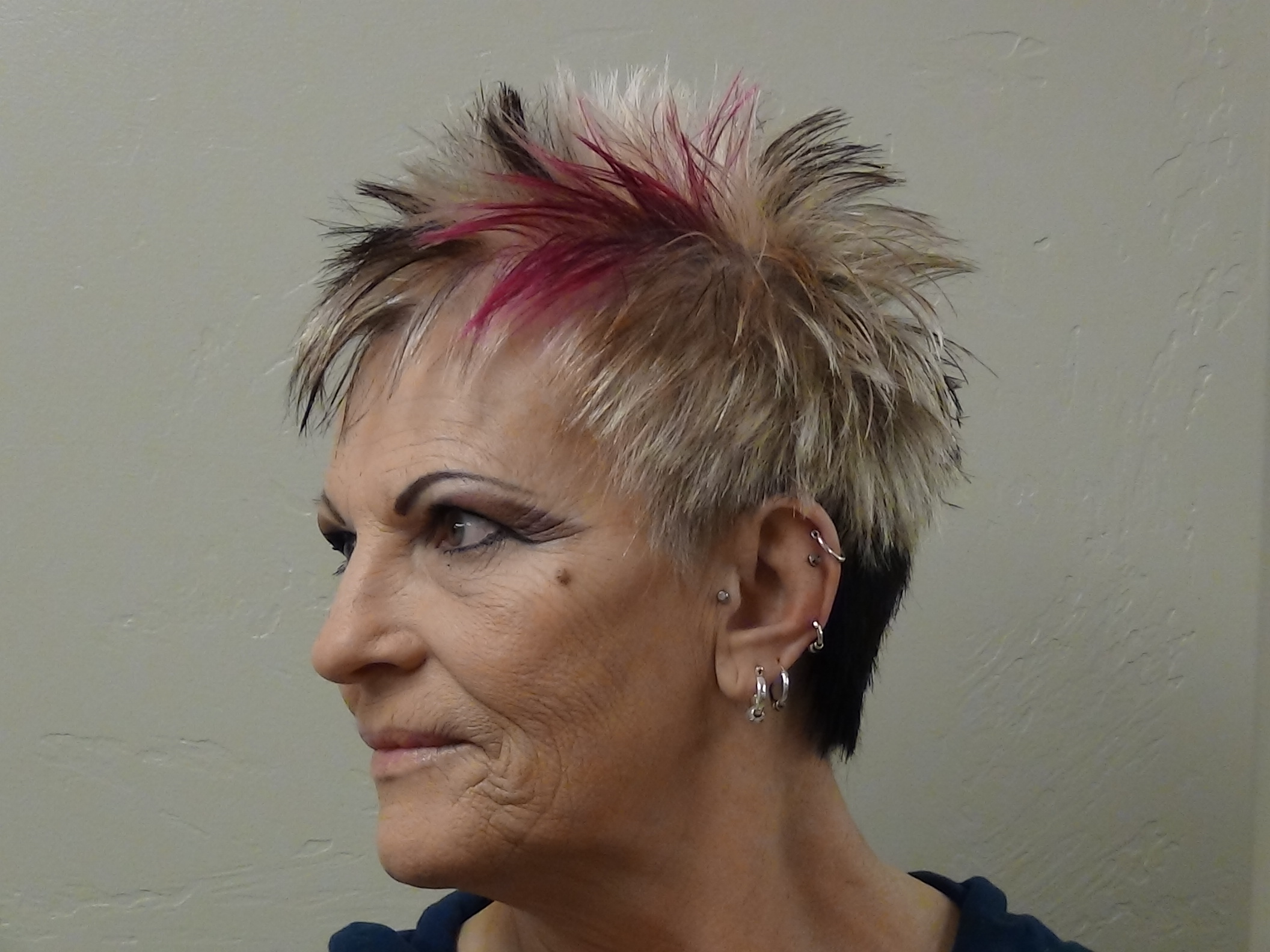 Cut And Style Ladies Faux Hawk Boys And Girls Hairstyles