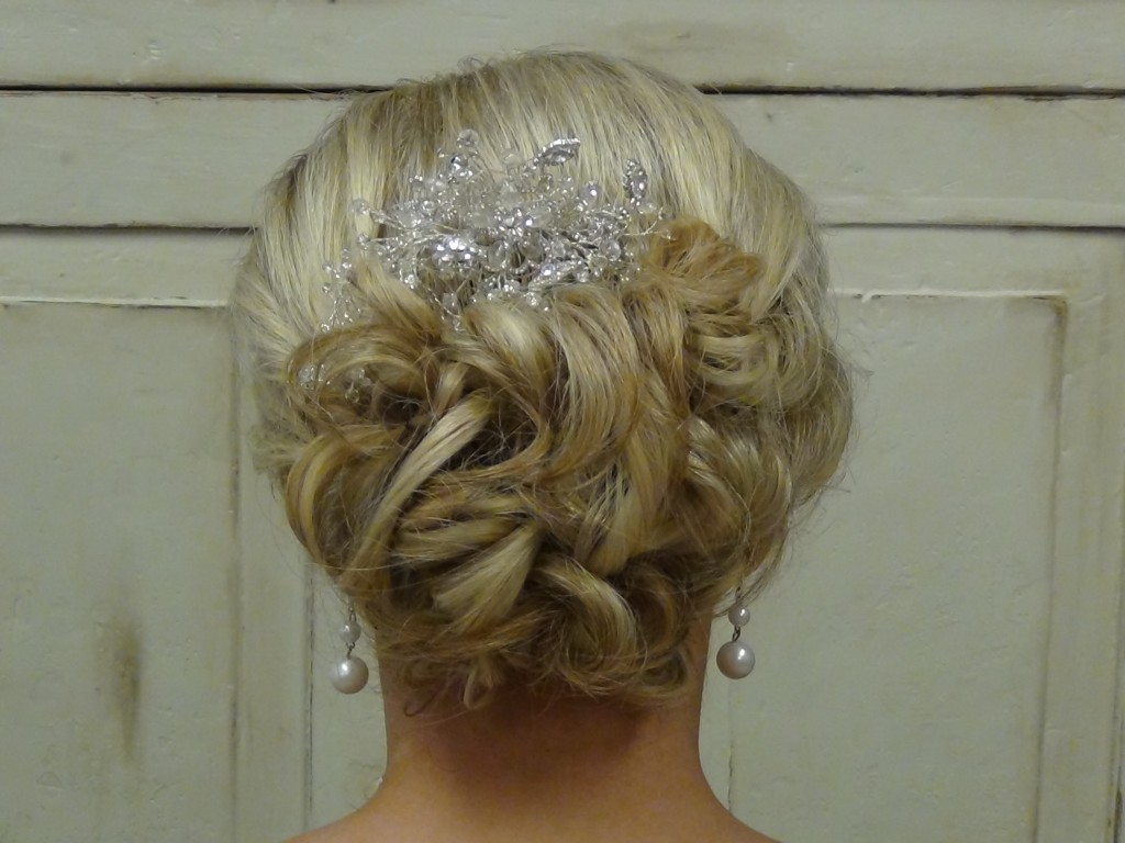 Beautiful Wedding Updo For A Beautiful Bride Boys And