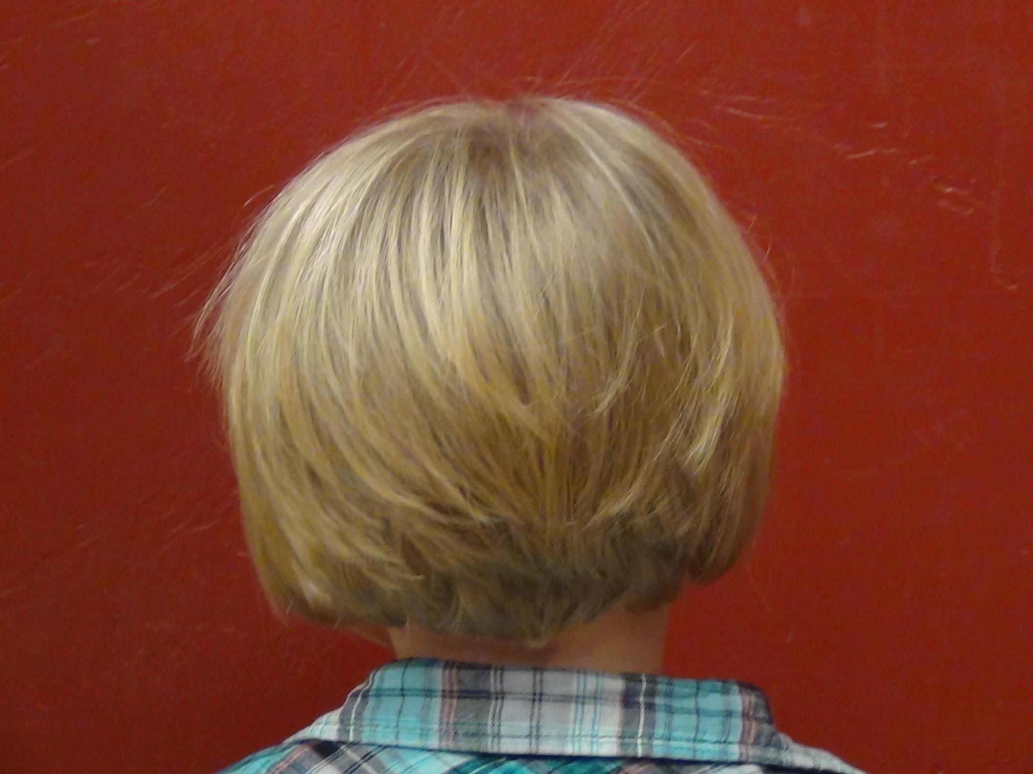 Style A Line Hair Cut On The Cutest Little Girl S Hair
