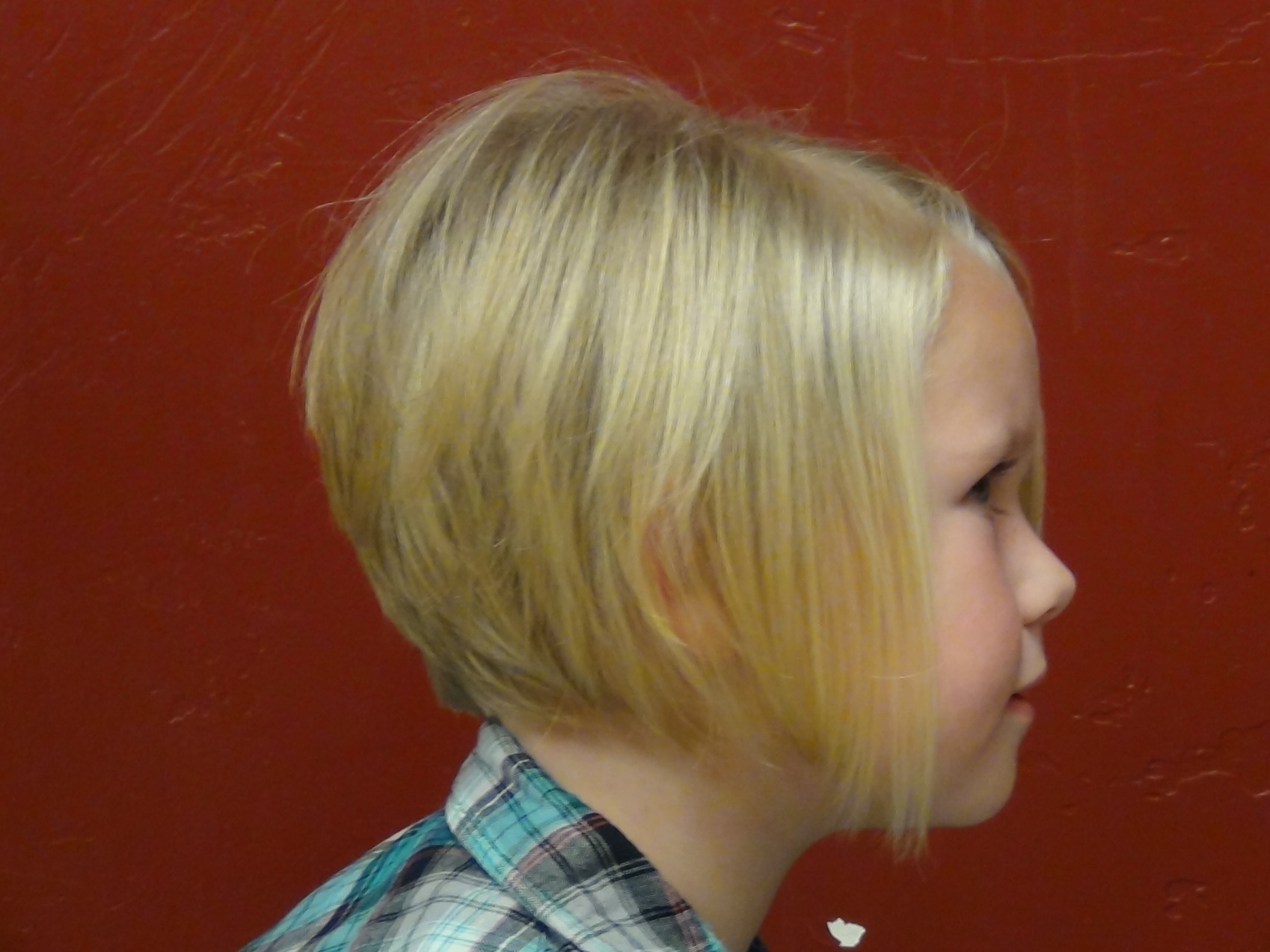 Style A Line Hair Cut On The Cutest Little Girl S Hair Boys And