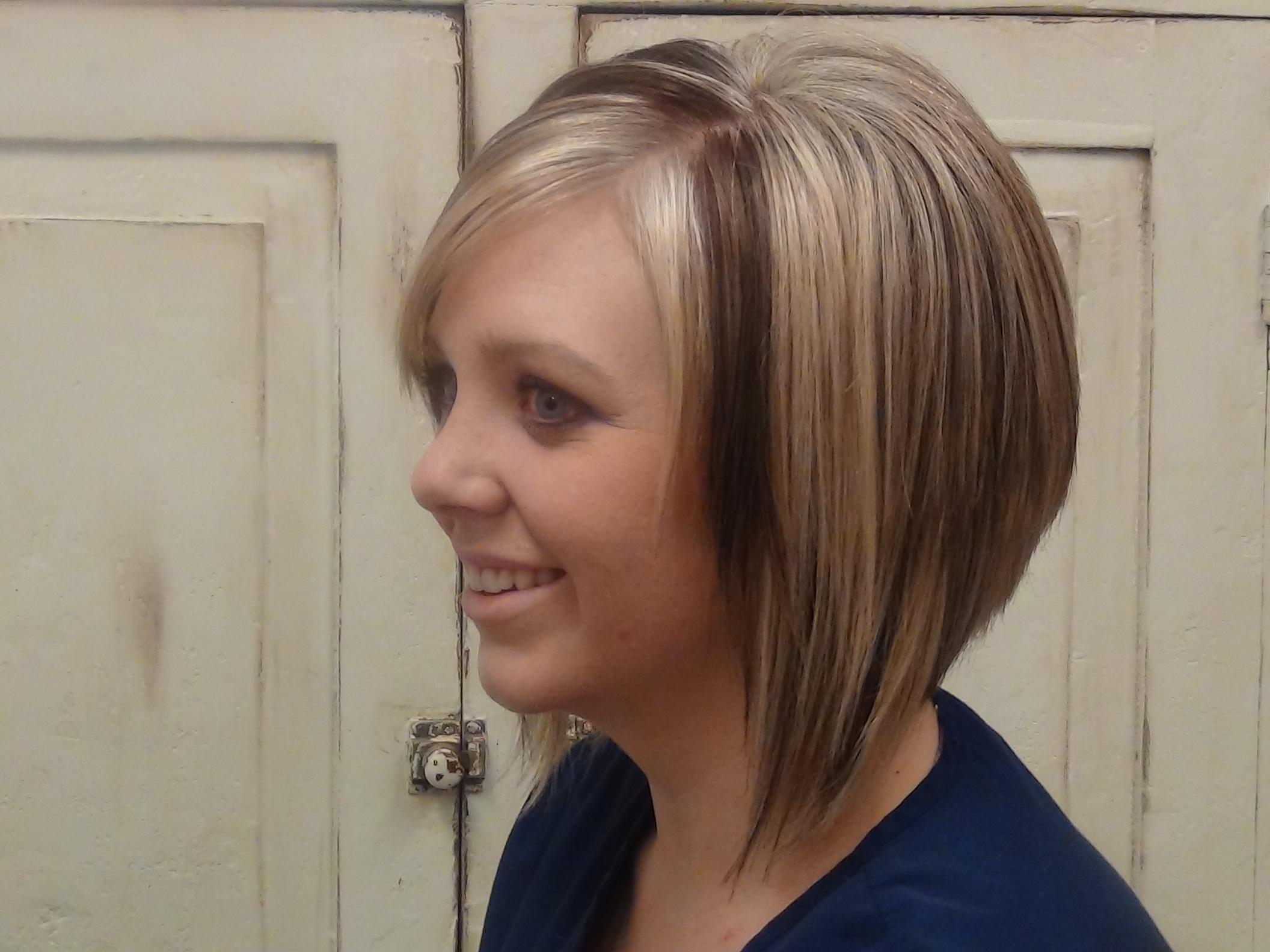 Cut Medium A-line Into Long Hair Haircut