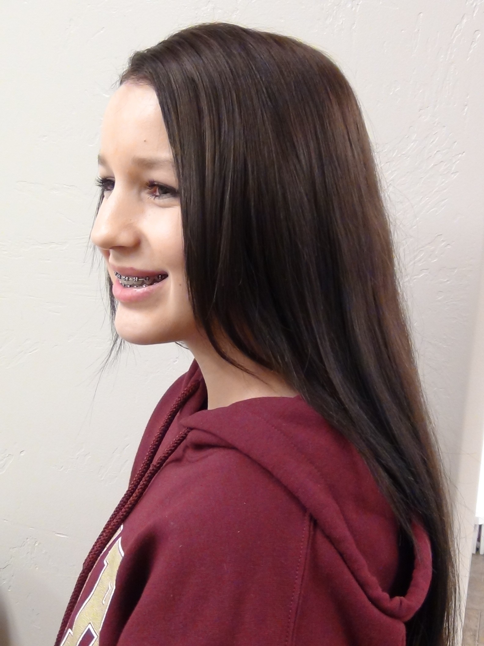 Color Stripes To Full Color Hairstyle Hair Coloring