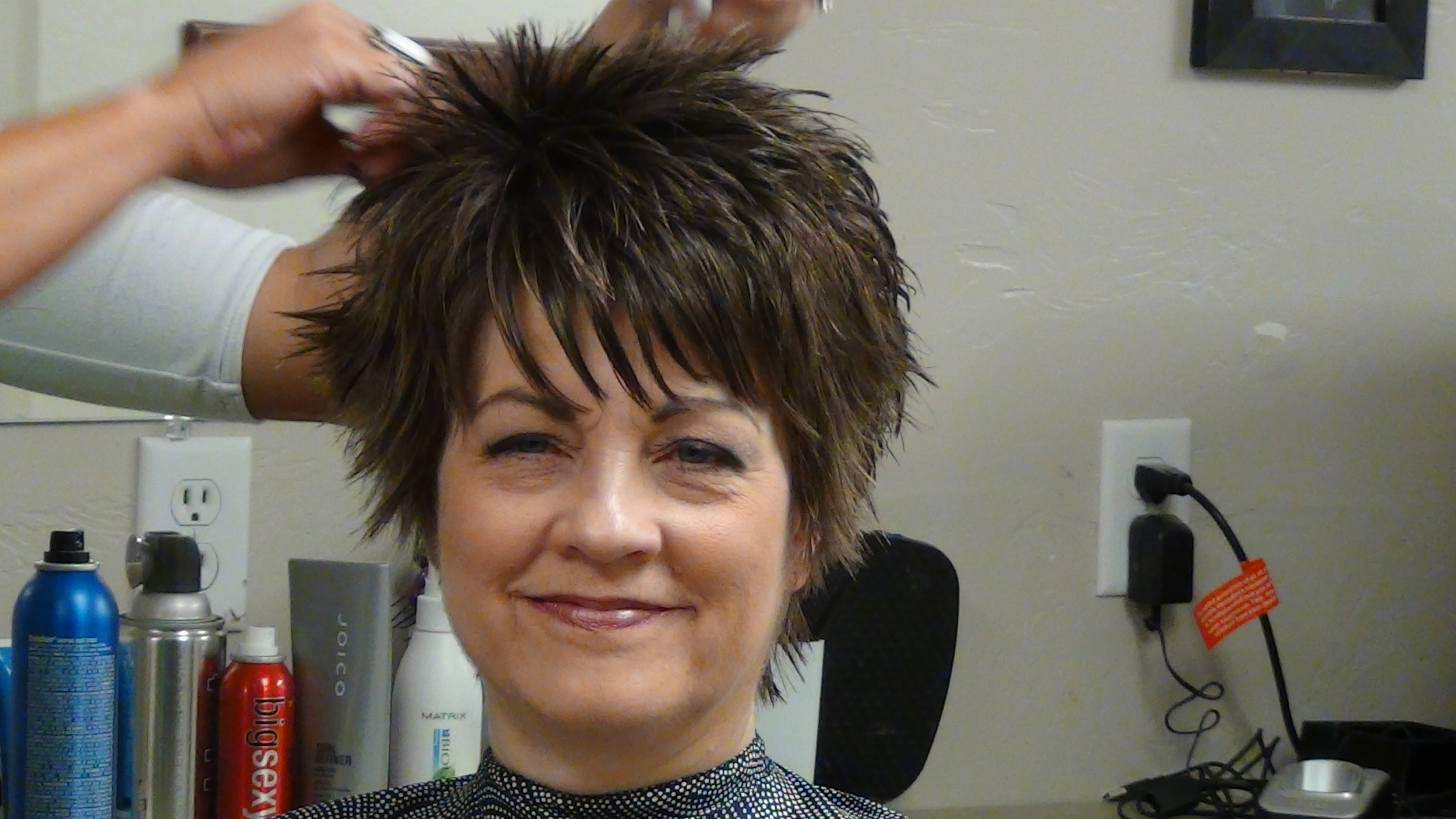 Unique Short Hairstyles: Short Hairstyle With Fun Unique Back Hairstyle