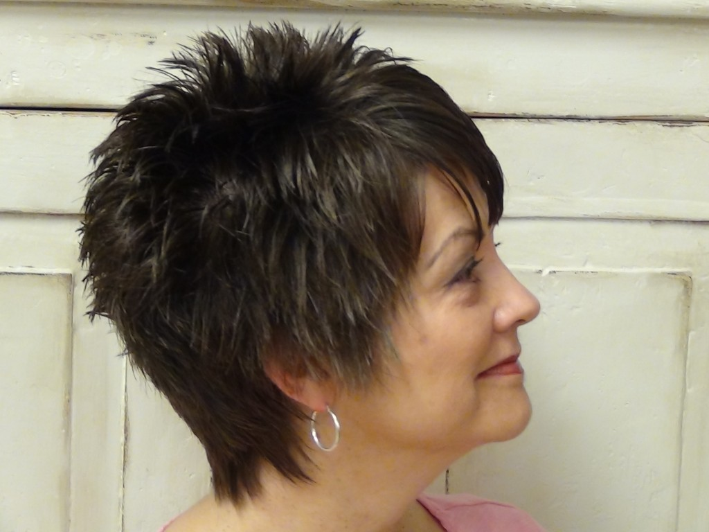 Hair Style Of Death: Short Hairstyle With Fun Unique Back Hairstyle