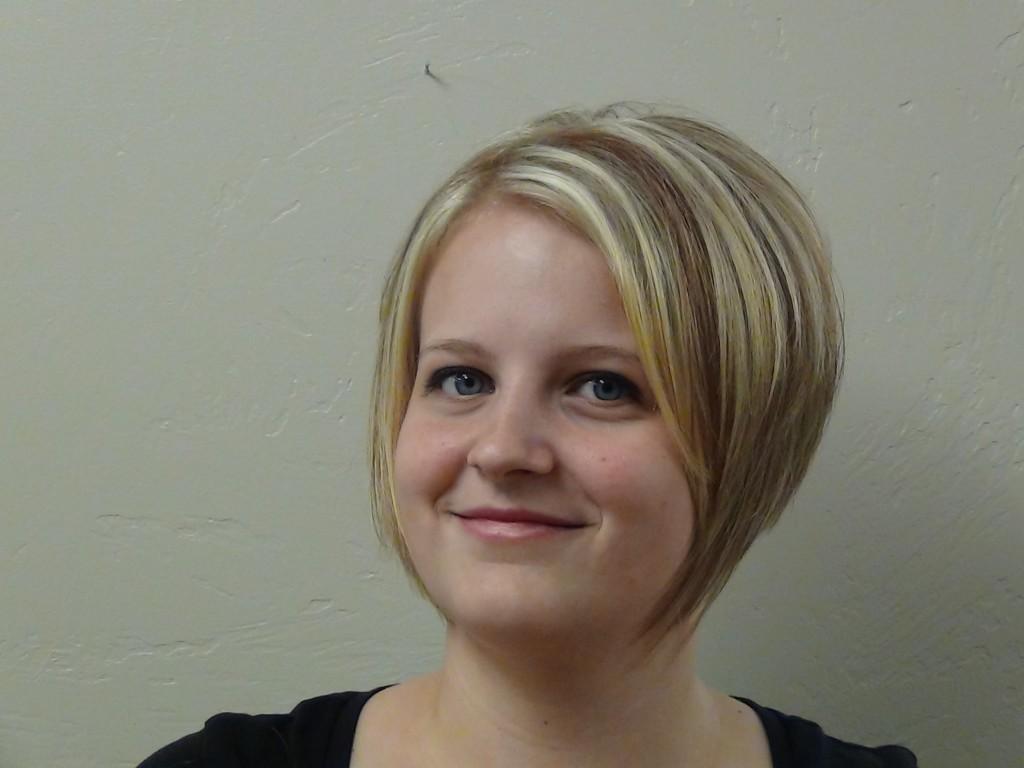 Thicken Hair With A Line Haircut Or Bob Cut Hairstyle