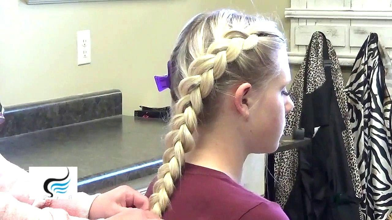 Double Inside Out French Braid Braiding Styles For Girls