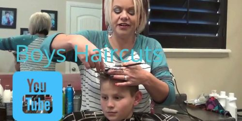 Cute Boys Haircut and Style