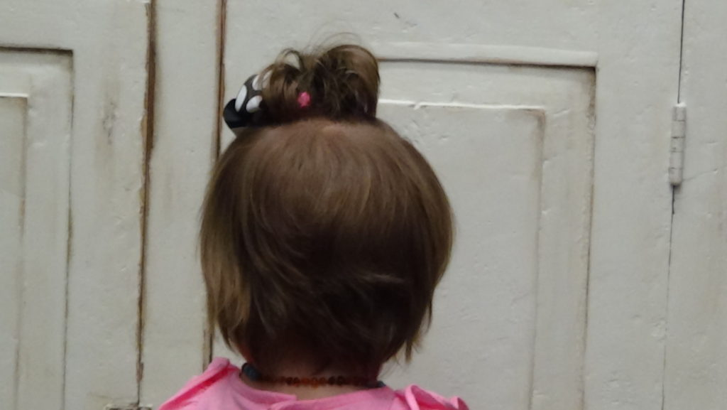 Little Girls First Babies Haircut