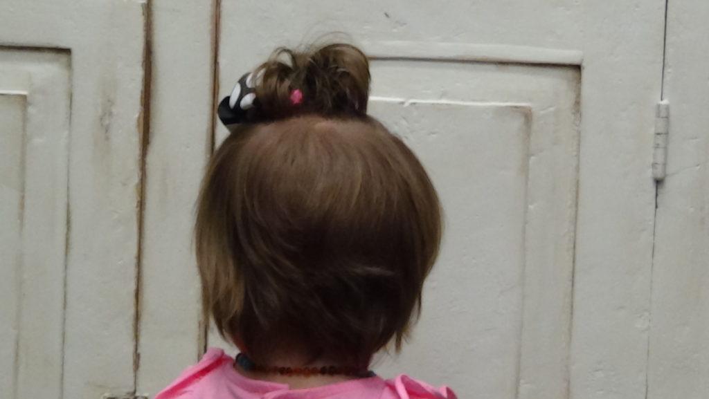 Little Girls First Babies Haircut