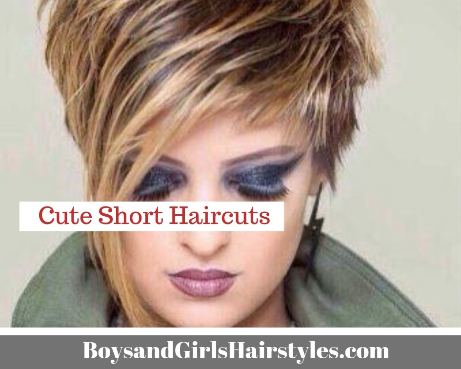 Cute Short Haircuts | Boys and Girls Hairstyles and Girl Haircuts