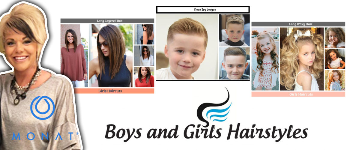 Boys and Girls Hairstyles and Girl Haircuts
